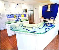 sea glass countertop sea glass kitchen kitchen beach glass s milestone recycled kitchen s