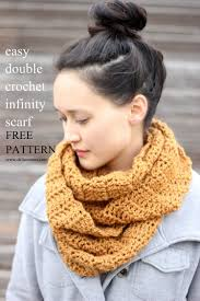 Crochet Infinity Scarf Patterns Custom Decoration