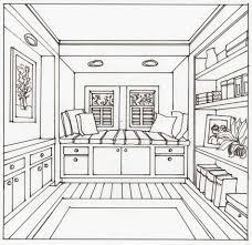 Interior Design Drawings Perspective. Interior Design Bedroom Drawings. Sketches  Drawings Perspective I