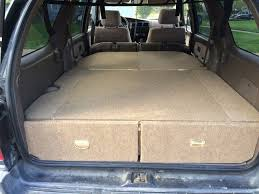 4runner storage/bed instructions. This guy gave exact measurements ...