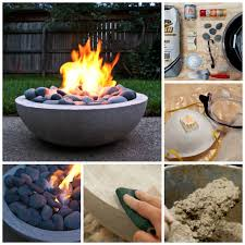 Diy Gas Fire Pit Instructions In Imposing Build Gas Fire Pit Table ...