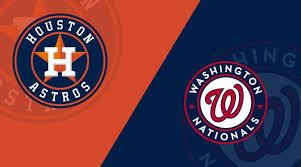 Houston Astros Depth Chart Washington Nationals Vs Houston Astros 10 23 19 Starting