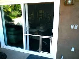 screen door with doggy pet for sliding doors french glass net