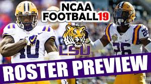 Lsu 2018 Roster Preview Updated Rosters For Ncaa Football 14 Operation Sports