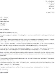 Gallery Of General Office Clerk Cover Letter Debt Collector Sample