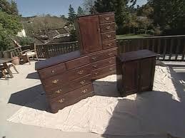 Dark Bedroom Furniture how to lighten dark bedroom furniture with paint howtos diy 4891 by guidejewelry.us