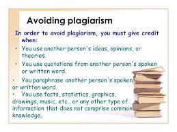and how to avoid plagiarism ppt video online avoiding plagiarism in order to avoid plagiarism you must give credit when you use