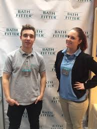 bath fitter vancouver careers. bath fitter vancouver staff at bc home + garden show 2017 - steffen \u0026 caitlin careers t