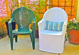 Frumpy to Fresh Plastic Chair Makeover   Slips Custom Interior ...