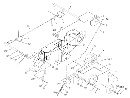 Parking brake system assembly