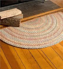 half circle rugs blue ridge half round wool braided rug 2 x 4 rugs within circle