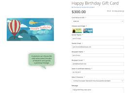 magento 2 gift card page