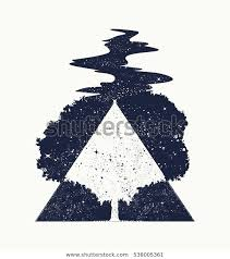 Stock Vektor Tree Life Tattoo Art Symbol Life Bez Autorských