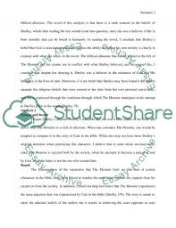 literary analysis on frankenstein by mary shelley essay literary analysis on frankenstein by mary shelley essay example