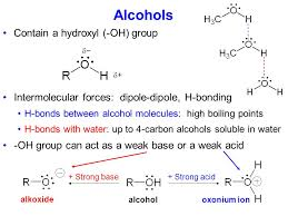 Alcohols Contain A Hydroxyl Oh Group Ppt Video Online Download