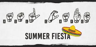 Asl Cafe Summer Fiesta San Francisco Recreation And Park
