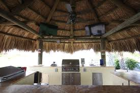 Outdoor Kitchen Designs With Pool Amazing Tiki Huts And Outdoor Kitchens Luxury Pool Builder Palm Beach