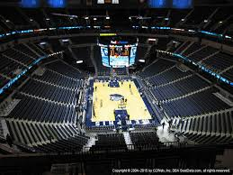 Fedex Forum View From Terrace Level 216 Vivid Seats