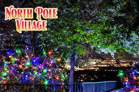 Lighting in garden Contemporary Enchanted Garden Of Lights Lookout Mountain North Pole Village Woodfield Outdoors Enchanted Garden Of Lights Christmas Lights In Chattanooga Tn