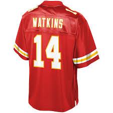 Red Men's Tall City amp; Pro Chiefs Team Line Kansas Big Sammy Watkins Nfl Jersey Color