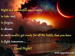 Cute Good Night Quotes Cool Cute Good Night Quotes Good Night Quotations Night Quotations