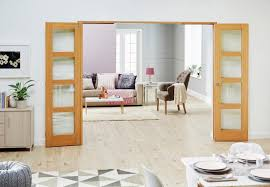frenchfold doors with sidelights folded back