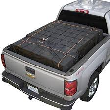 Amazon.com: Rightline Gear Black 100T60 Truck Bed Cargo Net with ...