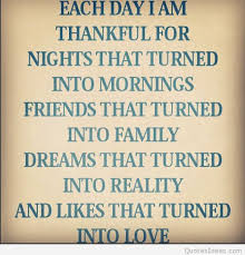 I Am Thankful Quotes Impressive Each Day I Am Thankful Quote