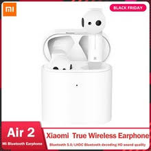 Original Xiaomi Mi Real <b>Wireless</b> Earphone Air 2 TWS <b>Bluetooth</b> 5.0 ...