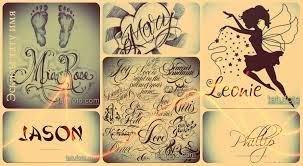 эскизы тату имя коллекция рисунков для татуировки с именем