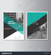 green annual report leaflet brochure flyer template a4 size design book cover layout design abstract presentation templates stock vector ilration