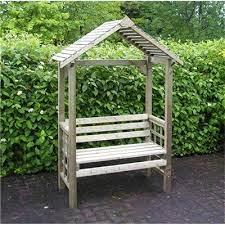 garden arbour bench seat