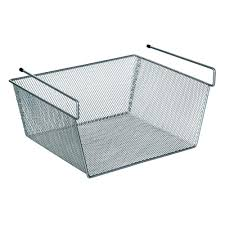 ltl home s more inside large under shelf wire basket ws z315432c the home depot