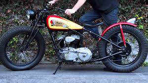 my 1940 indian scout flat tracker with racing pedigree youtube