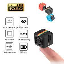 SQ11 <b>Mini Camera</b> 1080P Sport <b>DV Mini</b> Infrared Night Vision ...