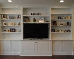 entertainment silhouette custom cabinets