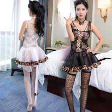 <b>Sexy</b> Lingerie Lace Dress <b>Women's Leopard</b> Erotic Stockings <b>Sexy</b> ...