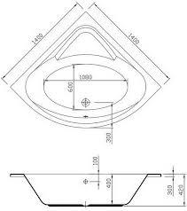 corner whirlpool tub dimensions designs