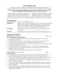 Resume Templates Desktopupport Engineeramplesample Download