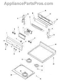 whirlpool wp7403p238 60 infinite switch appliancepartspros com part diagram