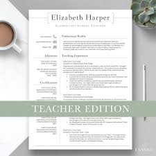 Teacher Resume Samples Download Pdf Template Indian Templates