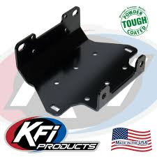 2007 2015 yamaha grizzly 550 700 winch mount kfi atv winch 100610 yamaha grizzly 550 700 winch mount