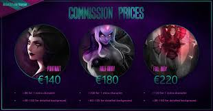 commission sheet commission price sheet by domeano on deviantart
