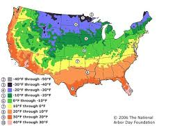 Plant Zone Chart 20 Specific Hardiness Chart