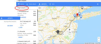 Google Flights Chart How To Use Google Flights Map