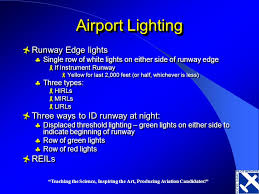5 airport lighting