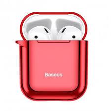 <b>Чехол Baseus Shining Hook</b> Case для Apple AirPods 1/2 Red ...