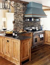 Rustic Log Kitchen Cabinets Kitchen Room Rustic Light Brown Wooden Kitchen Island And