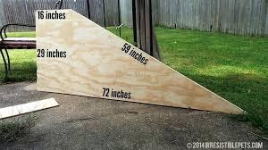 diy dog ramp for bed dog ramp angled sides diy dog ramp for truck bed