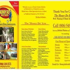 Honey Do Brothers Windows Installation 6204 23rd St Lubbock Tx